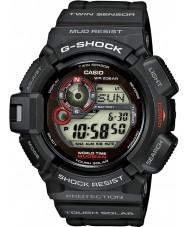 Casio G-9300-1ER Mens g-shock ikiz sensör güneş enerjili izle