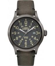 Timex TW4B01700 Erkek seferi analog kahverengi izlemek yükselmiş
