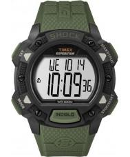 Timex TW4B09300 Erkek sefer yeşil reçine kayışı izle