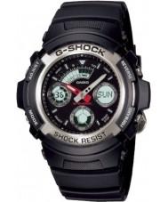 Casio AW-590-1AER Mens g-shock siyah kronograf spor izle