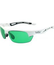 Bolle Bolt s parlak beyaz competivision silah tenis güneş gözlüğü
