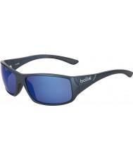 Bolle Kingsnake mat mavi polarize deniz mavi güneş gözlüğü