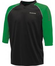 Dare2b Siyah yeşil mayo t-shirt aranan erkekler