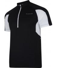 Dare2b DMT136-80040-XS Mens siyah jarse tişört commove - boyut xs