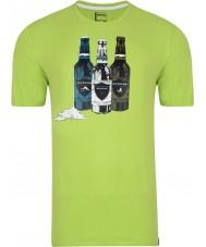 Dare2b Erkekler şişe kireç yeşil t-shirt