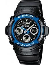 Casio AW-591-2AER Mens g-shock siyah kronograf spor izle