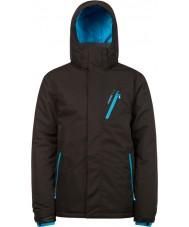 Protest 6710462-290-M Erkek avenger gerçek siyah kar ceket - boyut m