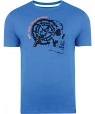 Dare2b DMT324-9PR40-XS Erkek gearhead skydiver mavi t-shirt - boyut xs