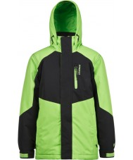 Protest 6811162-659-116 6 yıl (116 cm) - Erkek genç yaprak yeşil kar ceket bonk