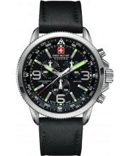 Swiss Military 6-4224-04-007 Mens chrono siyah izlemek ok