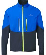 Ronhill RH-001893R424-S Erkek avans kobalt siyah windlite ceket - boyut s