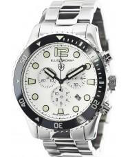 Elliot Brown 929-007-R01 Mens bloxworth gümüş çelik kronograf izle