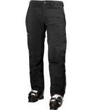 Helly Hansen Erkekler hız yalıtımlı siyah kayak pantolon