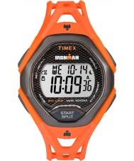 Timex TW5M10500 Ironman şık turuncu reçine kayışı izle mens