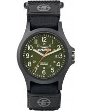 Timex TW4B00100 Erkek sefer akordeon çekirdekli siyah izle