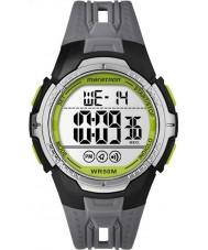 Timex TW5M06700 maraton siyah reçine kayışı izle mens