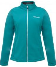 Dare2b Bayanlar özenli emaye mavi yumuşak ceket ceketi