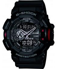 Casio GA-400-1BER Mens g-shock siyah kronograf izle