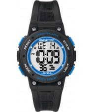 Timex TW5K84800 Dijital orta maraton siyah kronograf izle