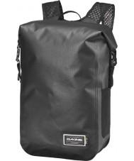 Dakine 10001825-CYCLONEBLK-81X Siklon rulo üst 32l sırt çantası