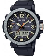 Casio PRG-600-1ER Erkek yanlısı Trek güneş siyah dijital saat desteklenmektedir
