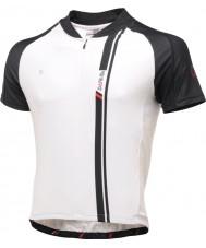 Dare2b DMT093-7P570-L Erkek AEP siyah ve beyaz kısa kollu jarse t-shirt top - boyut l