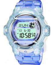 Casio BG-169R-6ER Bayanlar bebek g Telememo 25 mavi dijital saat