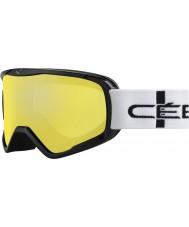 Cebe CBG50 Forvet l turuncu kareli - portakal flaş ayna kayak gözlükleri