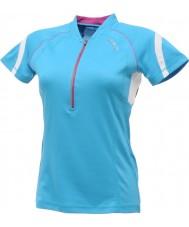 Dare2b DWT078-3FN12L Bayanlar mavi jersey tişört yenilendi - boyut s (12)