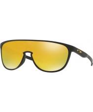 Oakley siyah Oo9318-06 trillbe mat - 24k iridyum güneş gözlüğü