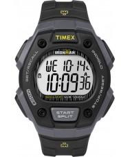 Timex TW5M09500 Ironman siyah reçine kayışı izle mens