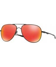 Oakley Oo4119-04 elmont m ve siyah l saten - yakut iridyum güneş gözlüğü