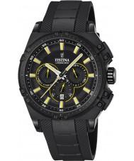 Festina F16971-3 Erkek chrono bisiklet siyah kauçuk kronograf izle