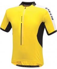 Dare2b DMT134-0QX40-XS Mens kalkmış parlak sarı mayo t-shirt - boyut xs