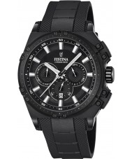 Festina F16971-1 Erkek chrono bisiklet siyah kauçuk kronograf izle