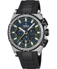 Festina F16970-3 Erkek chrono bisiklet siyah kauçuk kronograf izle