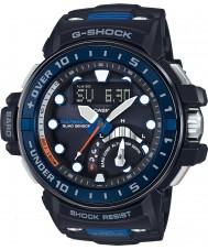 Casio GWN-Q1000-1AER Mens g-shock radyo kontrollü siyah reçine kayışı izle