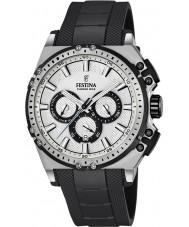 Festina F16970-1 Erkek chrono bisiklet siyah kauçuk kronograf izle