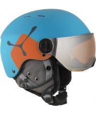 Cebe CBH209 Fireball jr mavi turuncu kayak kask - 49-54cm