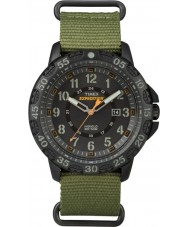 Timex TW4B03600 Erkek seferi Gallatin yeşil naylon kayış izle