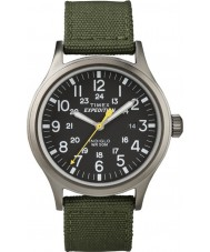 Timex T49961 Erkek sefer izci yeşil izle