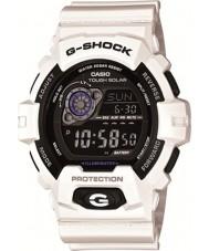 Casio GR-8900A-7ER Mens g-shock dünya zaman beyaz güneş enerjili izle