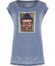 Dare2b Bayanlar huzurlu deniz mavi t-shirt