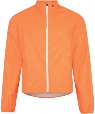 Dare2b DMW351-1FU70-L Erkek afüzyon neon turuncu su geçirmez kabuk ceket - boyut l