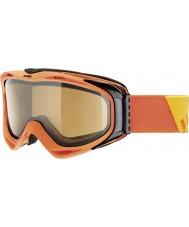 Uvex 5502143021 G.gl 300 turuncu çıkarmak - polavision kahverengi kayak gözlüğü
