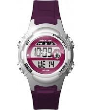Timex TW5M11100 Bayanlar maraton mor reçine kayışı izle