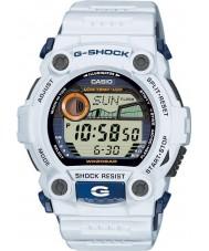 Casio G-7900A-7ER Mens g-shock g-kurtarma beyaz izle
