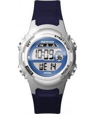 Timex TW5M11200 Bayanlar maraton mavi reçine kayışı izle