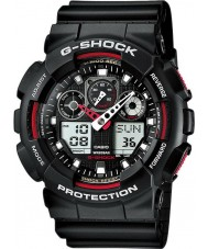 Casio GA-100-1A4ER Mens g-shock otomatik ışık siyah led watch