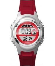 Timex TW5M11300 Bayanlar maraton kırmızı reçine kayışı izle